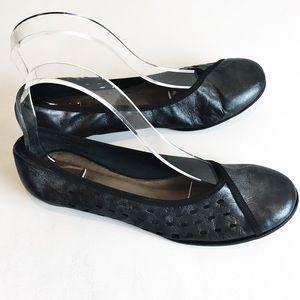 Sesto Meucci Chrome Ballet Flats 7.5M